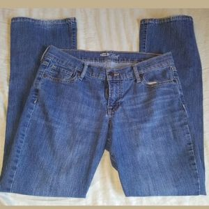Womens boot cut Jean's from Old Navy size 6 short
